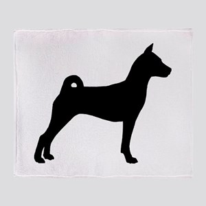 Basenji Dog Throw Blanket