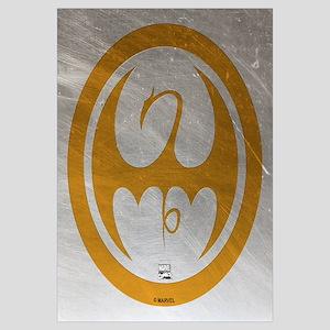 Marvel Ironfist Logo Wall Art