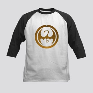 Marvel Ironfist Logo Kids Baseball Jersey