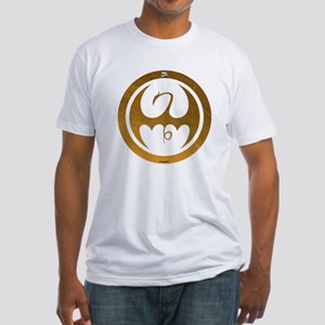 Marvel Ironfist Logo Fitted T-Shirt