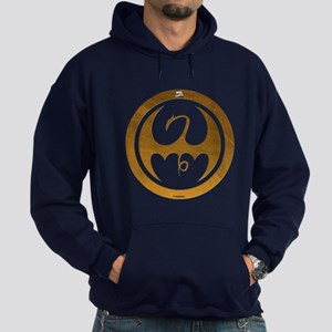 Marvel Ironfist Logo Hoodie (dark)