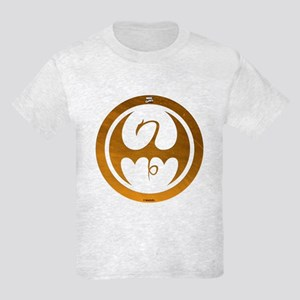 Marvel Ironfist Logo Kids Light T-Shirt