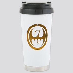 Marvel Ironfist Logo Stainless Steel Travel Mug
