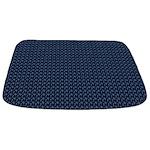 Blue Nautical Pattern Bathmat
