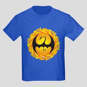 Marvel Iron Fist Logo Kids Dark T-Shirt