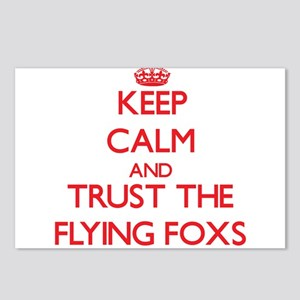 Keep calm and Trust the Flying Foxs Postcards (Pac
