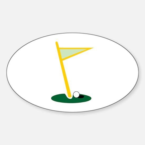 Golf Hole Decal