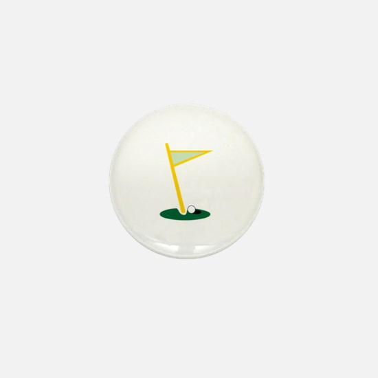 Golf Hole Mini Button