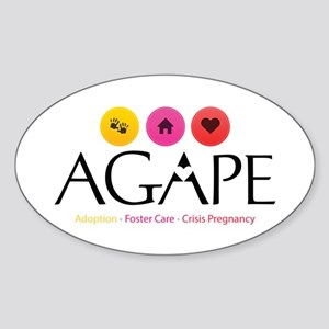 Agape - Connecting the Dots Sticker