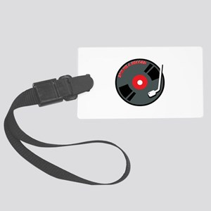 Spin Me A Record Luggage Tag