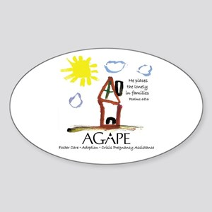Agape For Families Collection Sticker