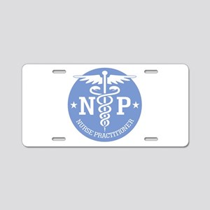 Caduceus NP (rd) Aluminum License Plate
