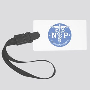 Caduceus NP (rd) Luggage Tag