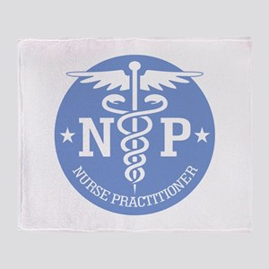 Caduceus NP (rd) Throw Blanket