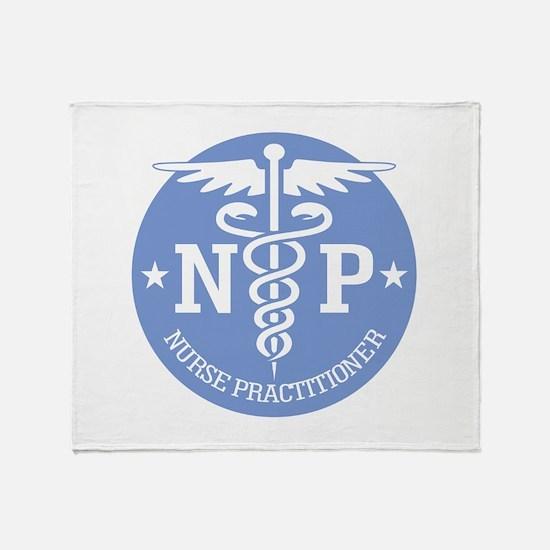 Caduceus NP (rd) Throw Blanket