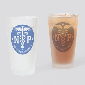 Caduceus NP (rd) Drinking Glass