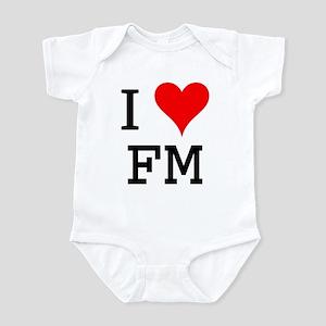 I Love FM Infant Bodysuit