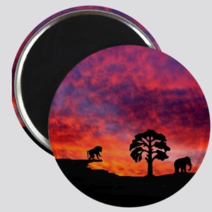 "Sunset 2.25"" Magnet (10 pack)"