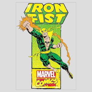 Iron Fist Masthead Wall Art