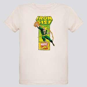 Iron Fist Masthead Organic Kids T-Shirt