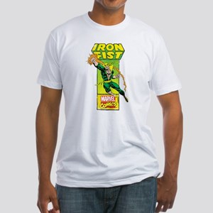 Iron Fist Masthead Fitted T-Shirt