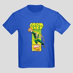 Iron Fist Masthead Kids Dark T-Shirt