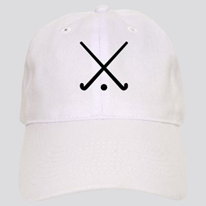 Crossed Field hockey clubs Cap