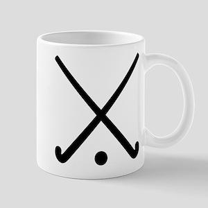 Crossed Field hockey clubs Mug