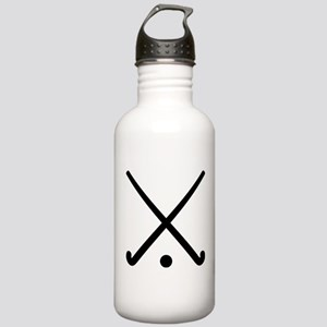 Crossed Field hockey c Stainless Water Bottle 1.0L