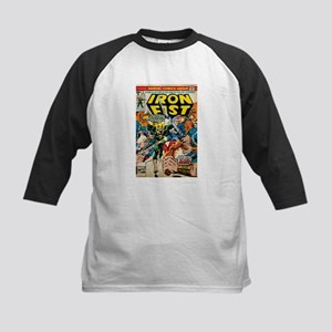 iron fist comic Kids Baseball Jersey