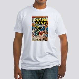 iron fist comic Fitted T-Shirt