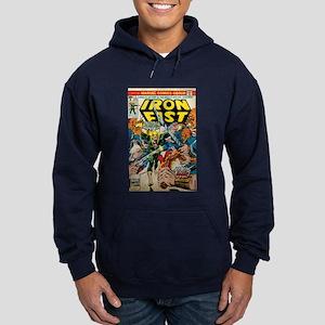 iron fist comic Hoodie (dark)