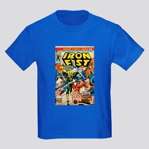 iron fist comic Kids Dark T-Shirt
