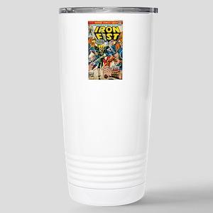 iron fist comic Stainless Steel Travel Mug
