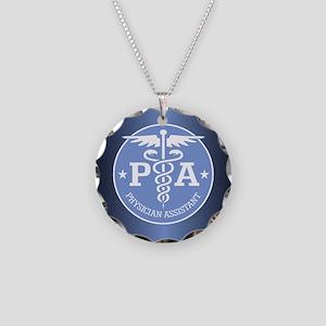Caduceus PA (rd) Necklace
