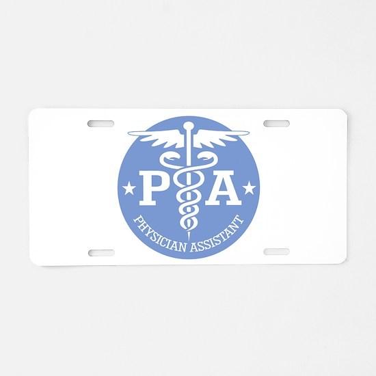 Caduceus PA (rd) Aluminum License Plate