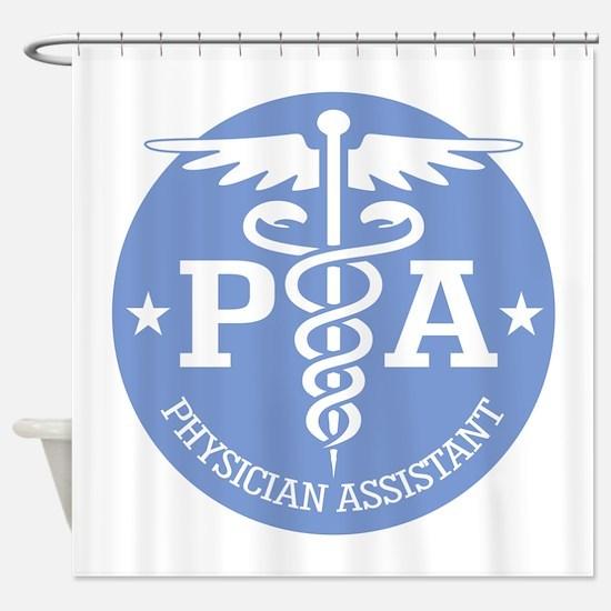 Caduceus PA (rd) Shower Curtain