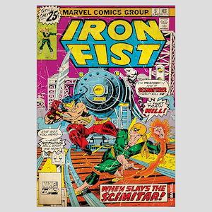 iron fist comic Wall Art