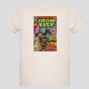 iron fist comic Organic Kids T-Shirt