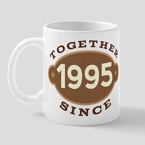 1995 Wedding Anniversary Mug