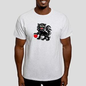 Painted Foo Dog Light T-Shirt