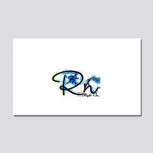 Right On S Car Magnet 20 x 12