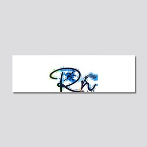 Right On S Car Magnet 10 x 3