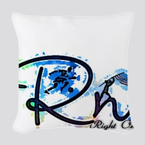 Right On S Woven Throw Pillow