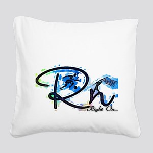 Right On S Square Canvas Pillow