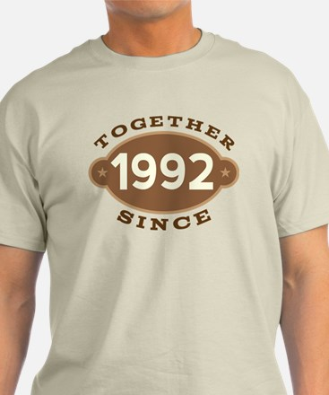 1992 Wedding Anniversary T-Shirt