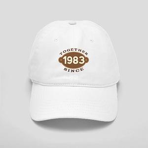 1983 Wedding Anniversary Cap