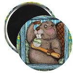 Beaver Brush Magnets