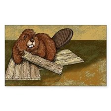 Beaver Sticker
