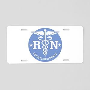 Caduceus RN 2 Aluminum License Plate